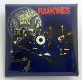 Ramones - 'Cartoon' Square Badge